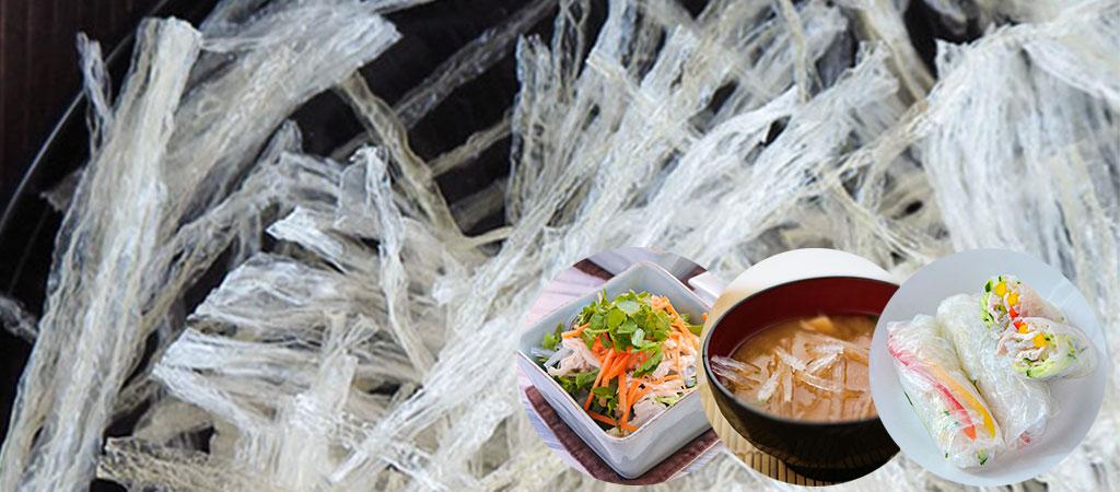 食物繊維豊富な糸寒天